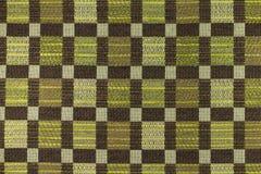 Fundo do marrom escuro e do verde com testes padrões geométricos Fotografia de Stock Royalty Free
