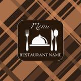 Fundo do menu Imagens de Stock Royalty Free
