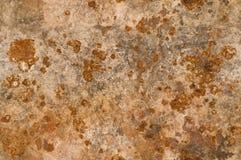 Fundo do metal com a corrosão oxidada sem emenda tileable fotografia de stock