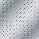 Fundo do metal com fundo listrado da textura Fundo do alumínio e do metal Fotografia de Stock
