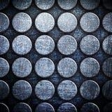 Fundo do metal do teste padrão de ponto Fotos de Stock