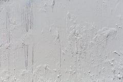Fundo do metal pintado com pintura branca fotografia de stock royalty free