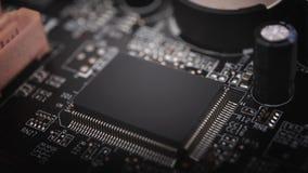 Fundo do microchip imagem de stock