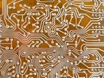 Fundo do microcircuito Fotografia de Stock