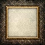 Fundo do molde - folha de papel na moldura para retrato Imagem de Stock