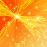 Fundo do mosaico amarelo Imagens de Stock Royalty Free