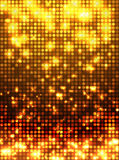 Fundo do mosaico do disco do ouro Foto de Stock Royalty Free