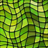 Fundo do mosaico do vidro colorido do vetor foto de stock royalty free