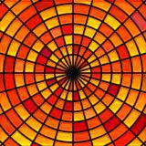 Fundo do mosaico do vidro colorido do vetor imagens de stock royalty free