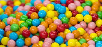 Fundo do multi-colorido circularmente fotografia de stock