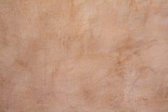 Fundo do muro de cimento de Tan Imagens de Stock Royalty Free