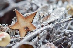 Fundo do Natal Fotografia de Stock