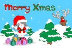 Fundo do Natal Foto de Stock