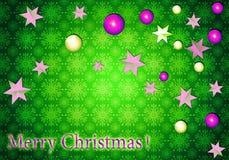 Fundo do Natal Fotos de Stock