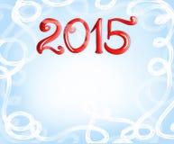 Fundo do Natal, 2015 Fotos de Stock Royalty Free