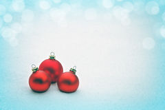 Fundo do Natal Fotografia de Stock