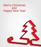 Fundo do Natal abstrato e do ano novo. vetor Fotos de Stock
