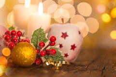 Fundo do Natal, ainda-vida Fotos de Stock Royalty Free