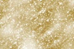 Fundo do Natal Brilho dourado do sumário do feriado Defocused fotos de stock