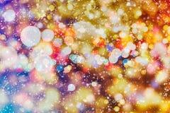 Fundo do Natal Brilho do sumário do feriado, ano novo, feriado, partido fotos de stock