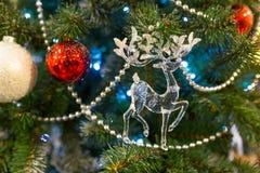 Fundo do Natal com decorações Imagem de Stock Royalty Free
