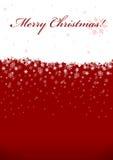 Fundo do Natal com espaço para o texto Fotos de Stock Royalty Free