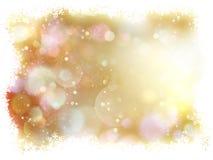Fundo do Natal com flocos de neve brancos Eps 10 Imagem de Stock