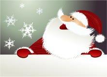 Fundo do Natal com Papai Noel Imagem de Stock Royalty Free