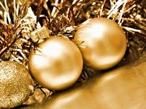 Fundo do Natal das esferas imagem de stock royalty free