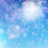 Fundo do Natal - dia ensolarado Eps 10 ilustração do vetor
