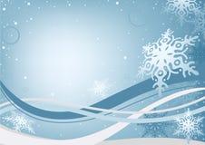 Fundo do Natal do inverno Imagens de Stock Royalty Free