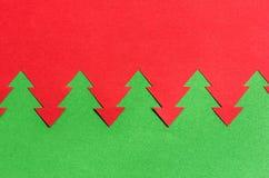 Fundo do Natal do papel vermelho e verde Imagens de Stock