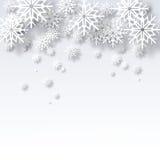 Fundo do Natal do sumário da ilustração do vetor Foto de Stock Royalty Free