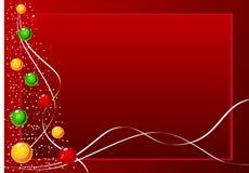 Fundo do Natal do vetor Fotografia de Stock Royalty Free