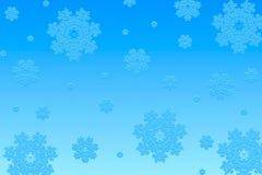 Fundo do Natal dos flocos de neve Fotografia de Stock Royalty Free