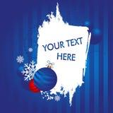 Fundo do Natal e de ano novo Imagens de Stock Royalty Free