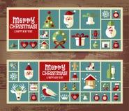 Fundo do Natal e do ano novo Fotografia de Stock