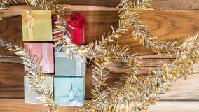 Fundo do Natal e do ano novo Imagens de Stock