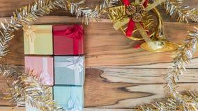 Fundo do Natal e do ano novo Imagem de Stock