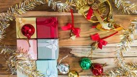 Fundo do Natal e do ano novo Fotos de Stock Royalty Free