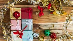 Fundo do Natal e do ano novo Fotos de Stock