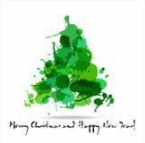 Fundo do Natal e do ano novo Foto de Stock Royalty Free