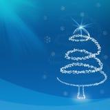 Fundo do Natal e estação #7 de cumprimento Foto de Stock