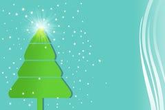 Fundo do Natal e estação #1 de cumprimento Foto de Stock