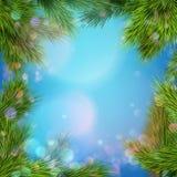 Fundo do Natal Eps 10 Foto de Stock