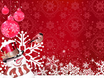 Fundo do Natal. Sumário. Fotos de Stock Royalty Free