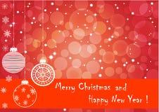 Fundo do Natal. vetor 10eps. ilustração stock