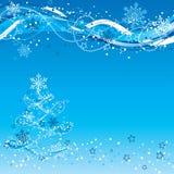 Fundo do Natal, vetor Imagens de Stock Royalty Free