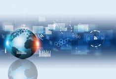 Fundo do negócio de uma comunicação do conceito Imagens de Stock