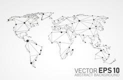 Fundo do negócio dos globos ilustração stock